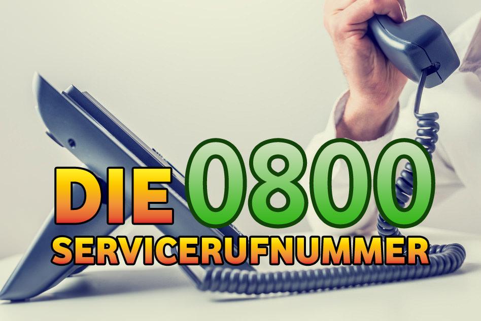 0800 Nummern