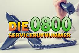 Sind 0800 Nummern kostenlos?